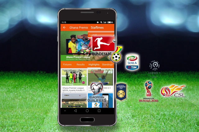 streaming bola android